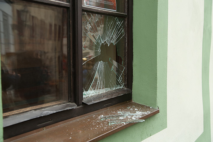 A2B Glass are able to board up broken windows while they are being repaired in Norwich.